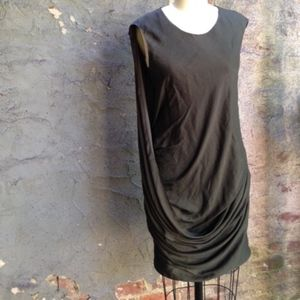 NWT Helmut Lang Bark Orbit Dress